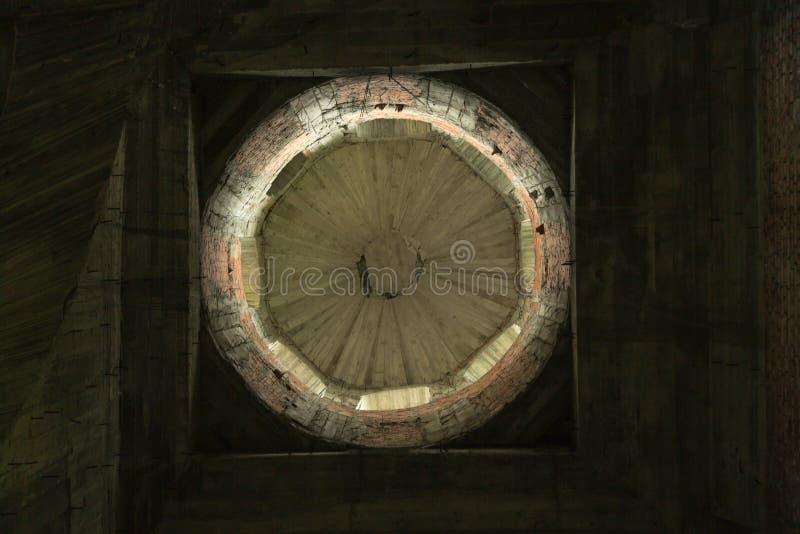 Strömförsörjningskyrka av den Hancu kloster arkivfoton