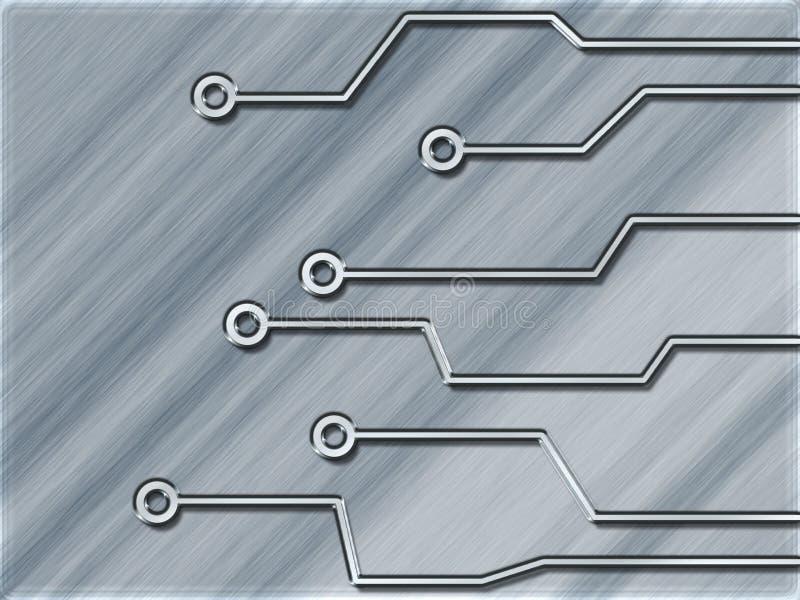 strömkrets vektor illustrationer