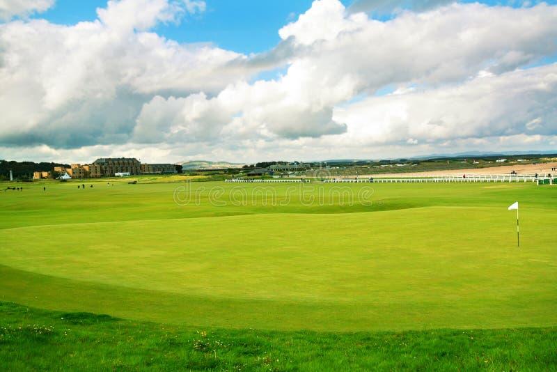 Str. Andrews, Golfplatz, Schottland lizenzfreies stockbild