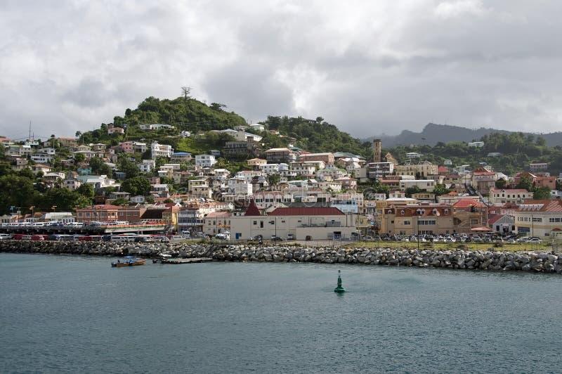 Str. Georges Grenada. stockfotografie