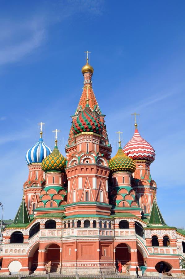 Str. Kathedrale des Basilikums. Moskau. stockbilder