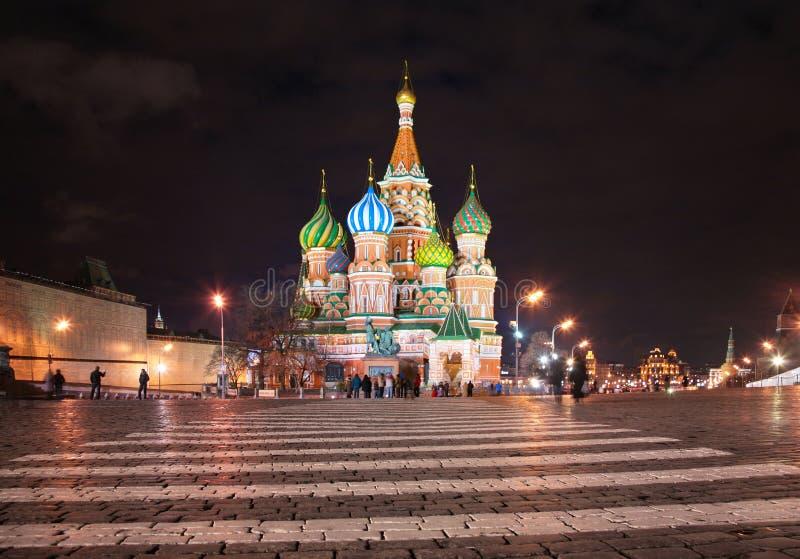 Str. Kathedrale des Basilikums in Moskau lizenzfreie stockbilder