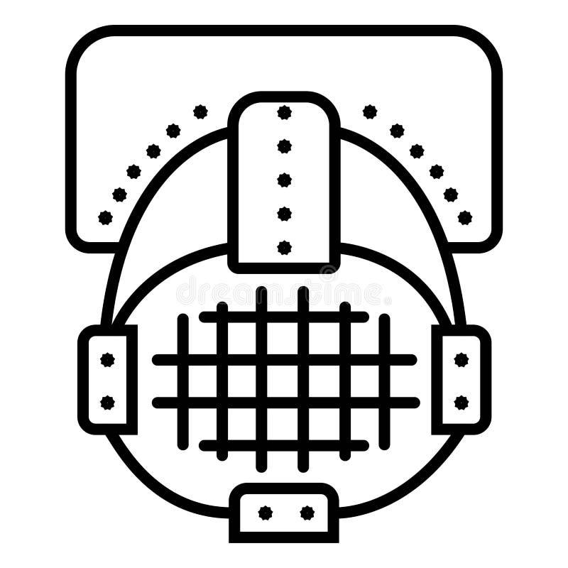 Str?lkastaresymbolsvektor vektor illustrationer