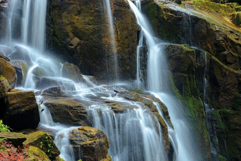 Str?mmar och kaskader av vattenfallet fotografering för bildbyråer