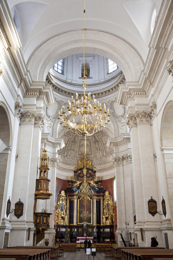 Str. Peter und Paul-Kirche - Krakau - Polen lizenzfreie stockfotografie
