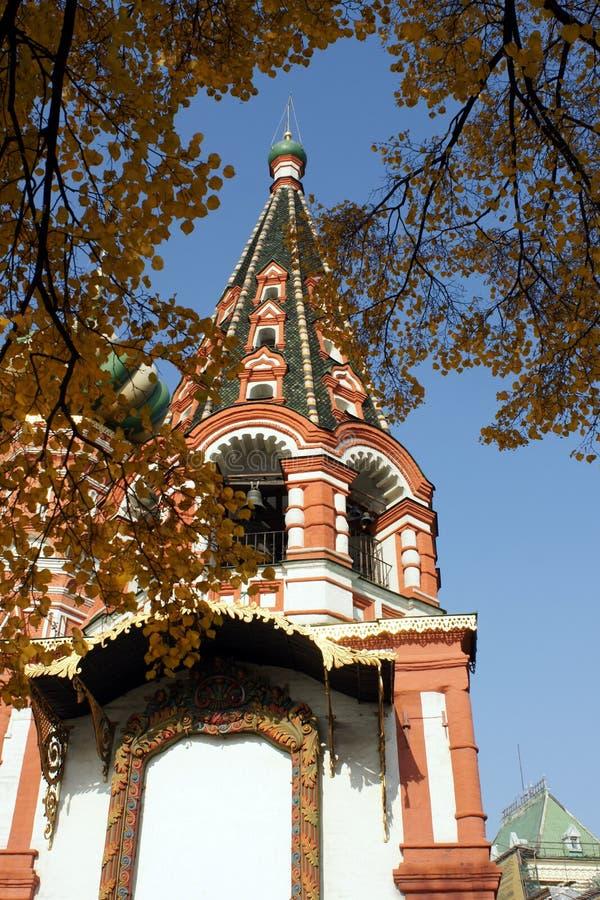 Str. Russische orthodoxe Kirche des Basilikums lizenzfreie stockfotografie