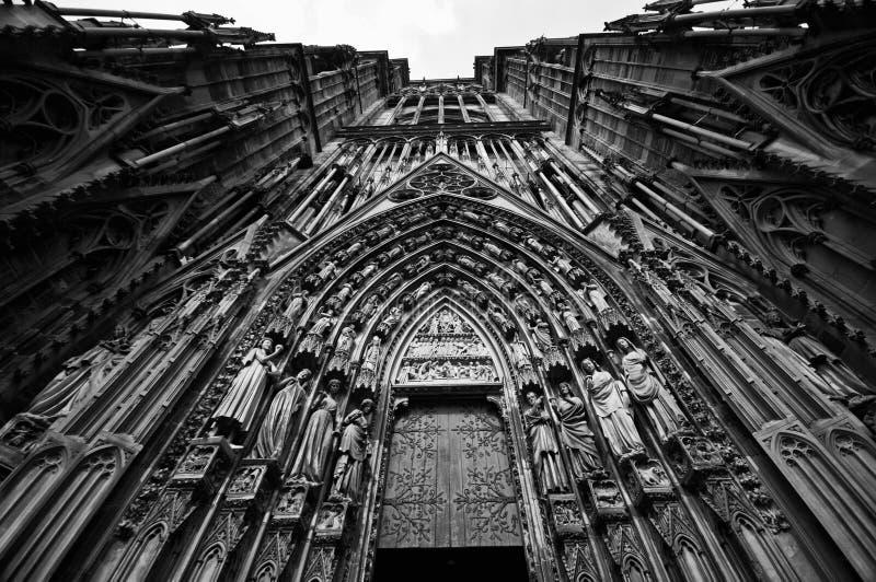 Straßburg Notre Dame stockfoto