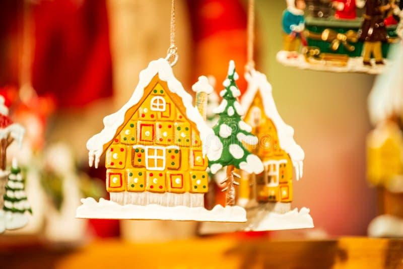 Straßburg, Weihnachtsmarkt - Frankreich lizenzfreies stockfoto
