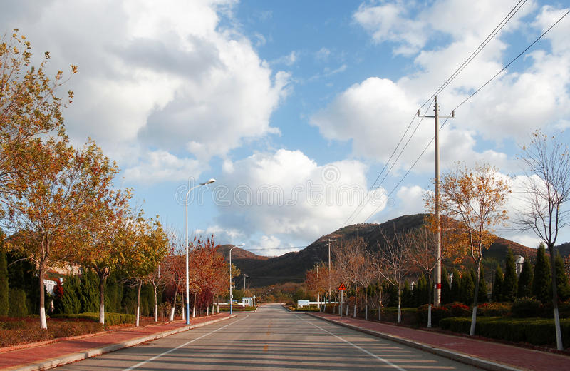 Straße stockfoto