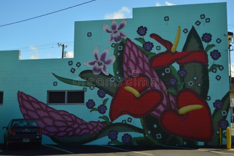 Straße Art In Hilo stockfotografie