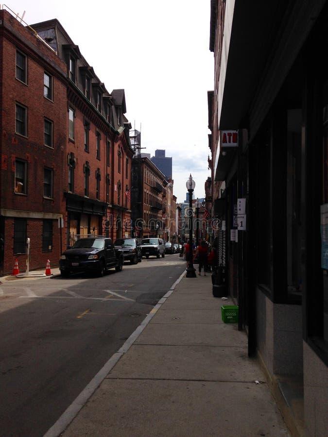 Straße in Boston stockfoto