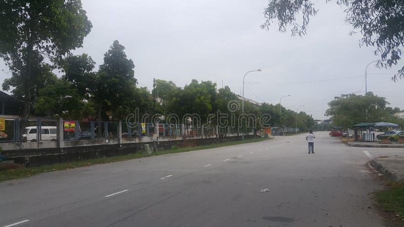 Straße des Hafens Klang Malaysia lizenzfreie stockfotografie