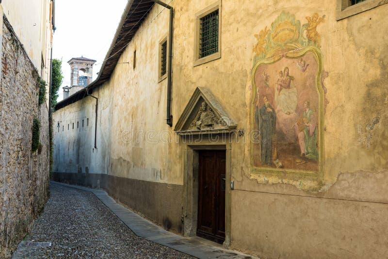Straße in Italien stockfoto