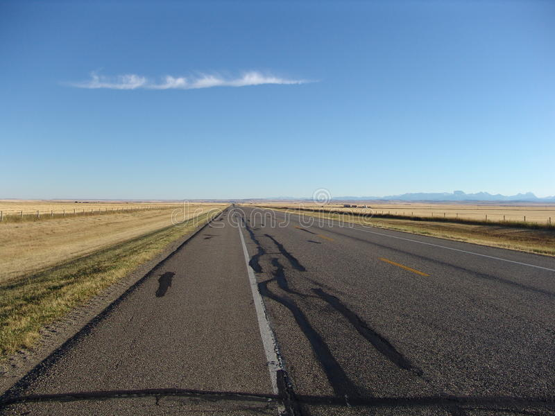 Straße zu Nirgendwo II stockfoto