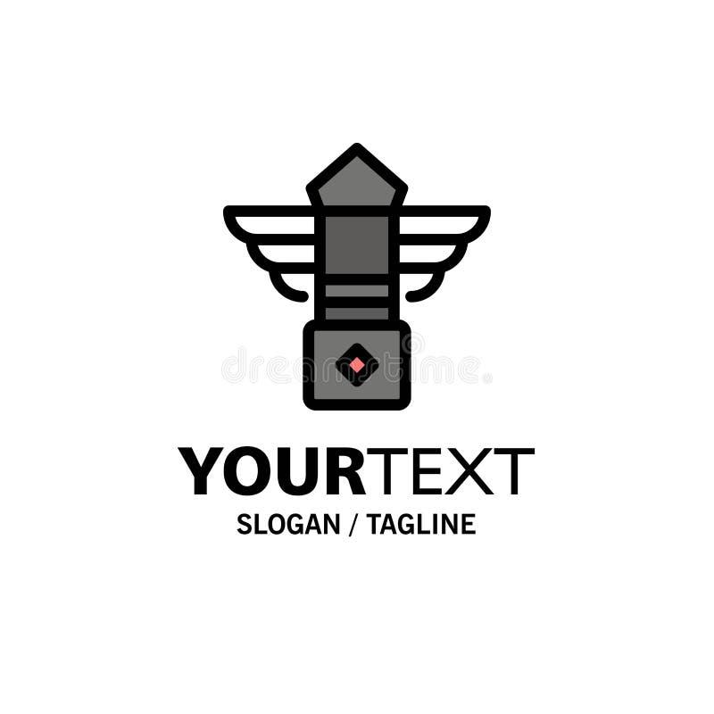 Straße, Licht, Nacht, Kanada-Geschäft Logo Template flache Farbe vektor abbildung