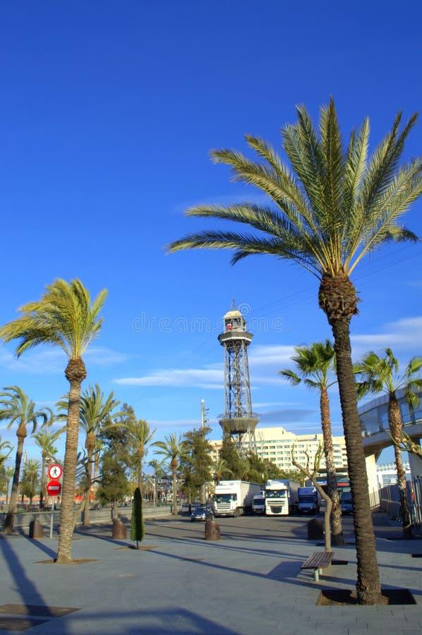 Straße Molldes Barcelona, Spanien stockfoto