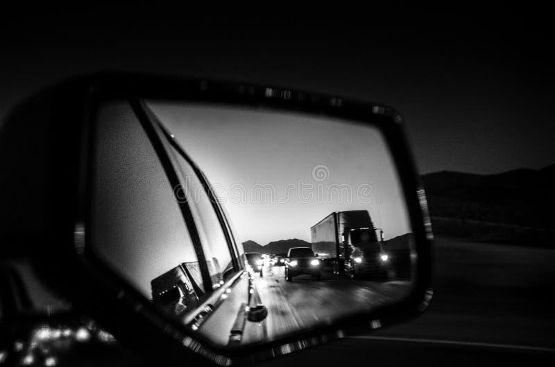 Straße nach Las Vegas stockfoto