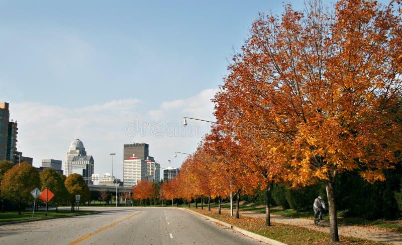 Straße nach Louisville stockbilder