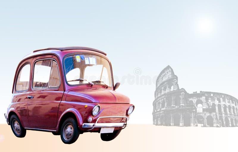 Straße nach Rom stockfoto