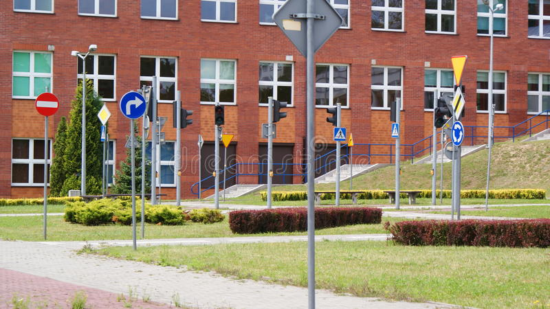 Straße oben stockbilder