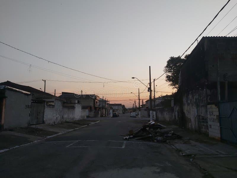 Straße ohne Ausgang stockbilder