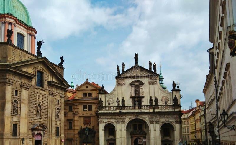 Straße in Prag lizenzfreies stockfoto