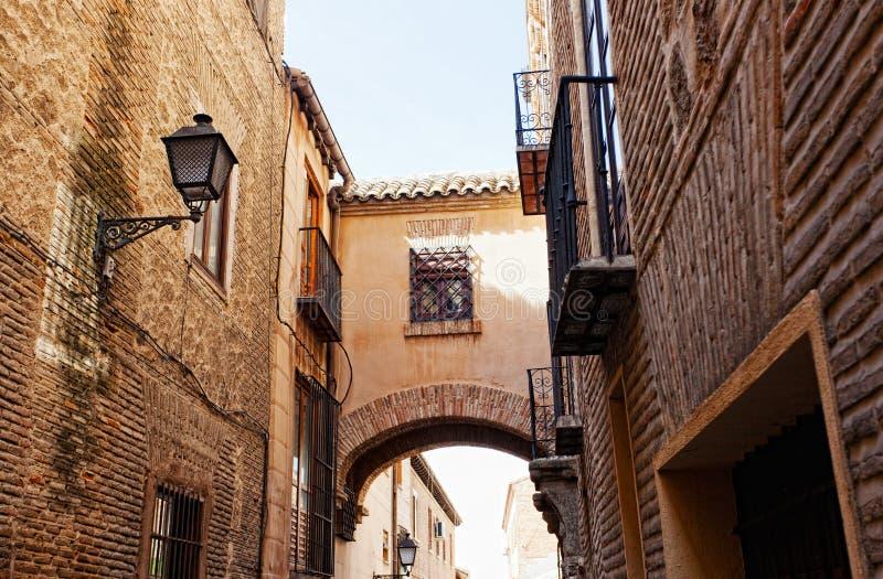 Straße in Toledo lizenzfreies stockfoto