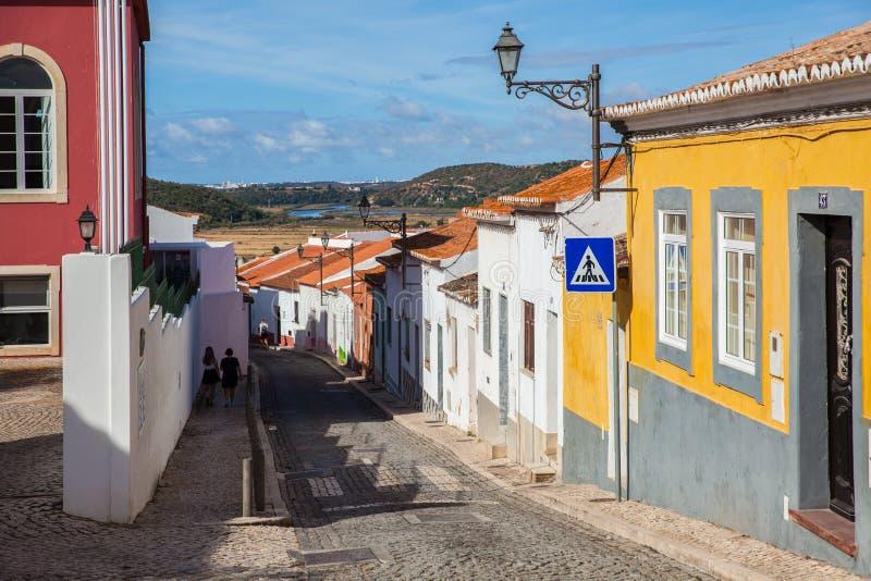 Straße von Algarve stockbilder