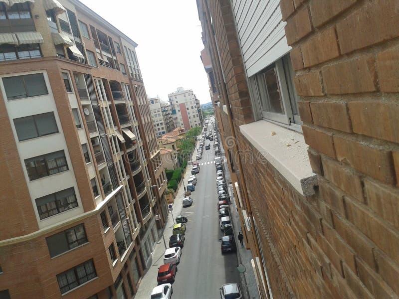 Straße von CastellÃ-³ stockfoto