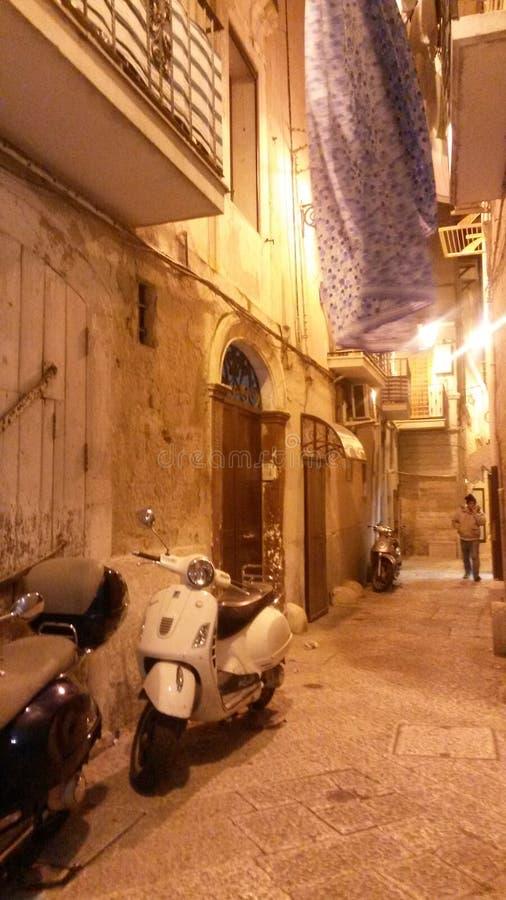 Straße von Italien stockfotografie