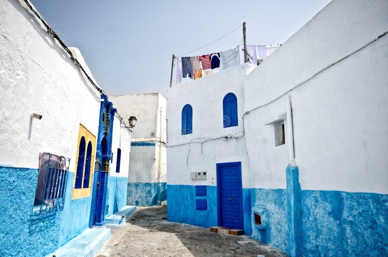 Straße von Rabat, Marokko lizenzfreie stockfotografie