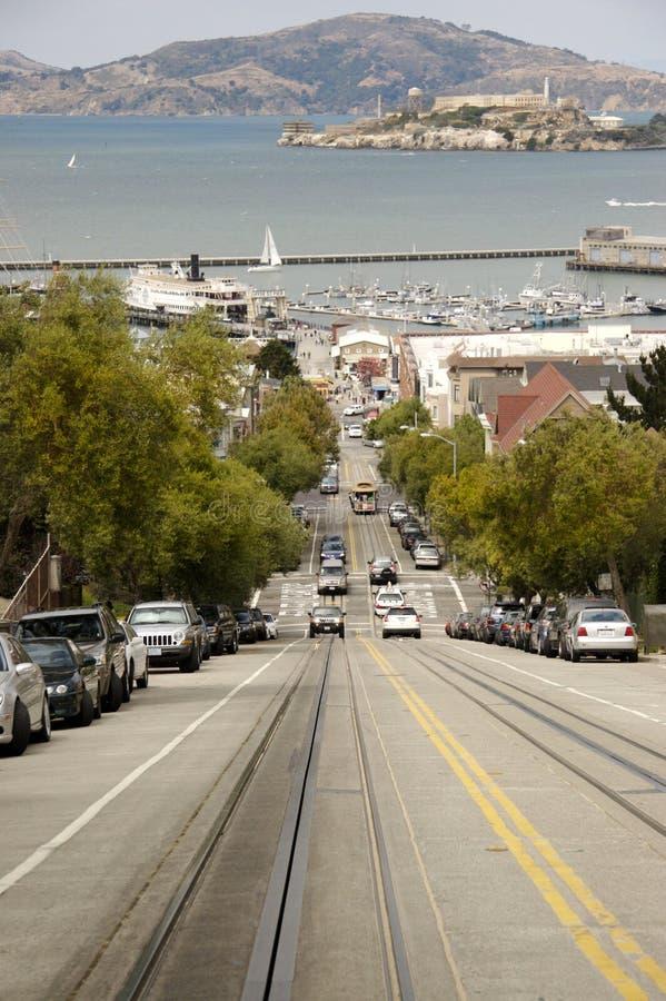 Straße von San Francisco lizenzfreie stockfotografie