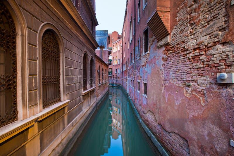 Straße von Venedig, Italien lizenzfreie stockbilder