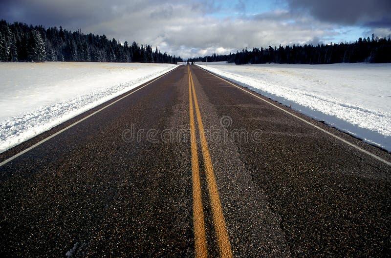 Straße voran lizenzfreie stockfotos