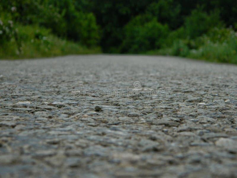 Straße zu nirgendwo stockfotografie