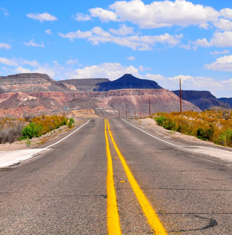 Straße zum Glück lizenzfreies stockbild