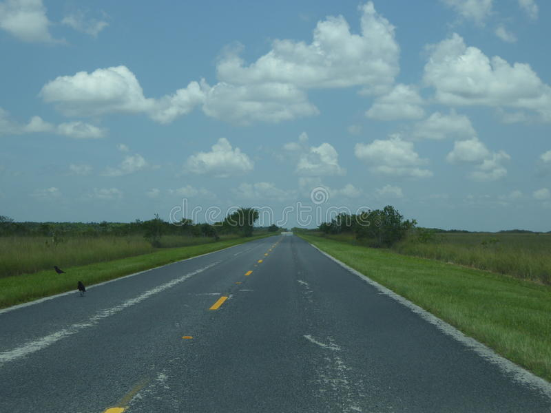 Straße zum Himmel stockfotos