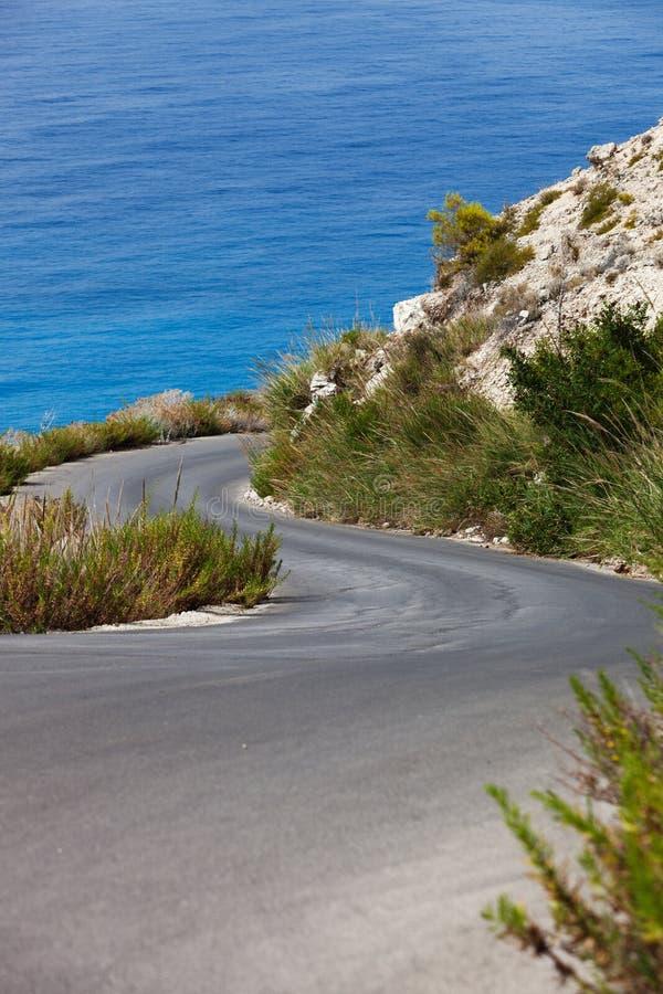 Straße zum Paradies lizenzfreie stockfotografie