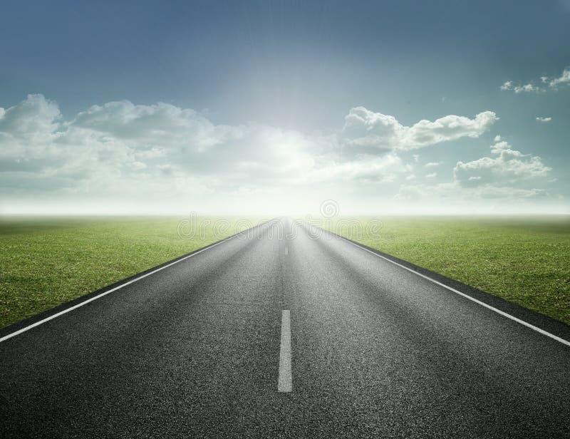 Straße zur Zukunft lizenzfreies stockfoto