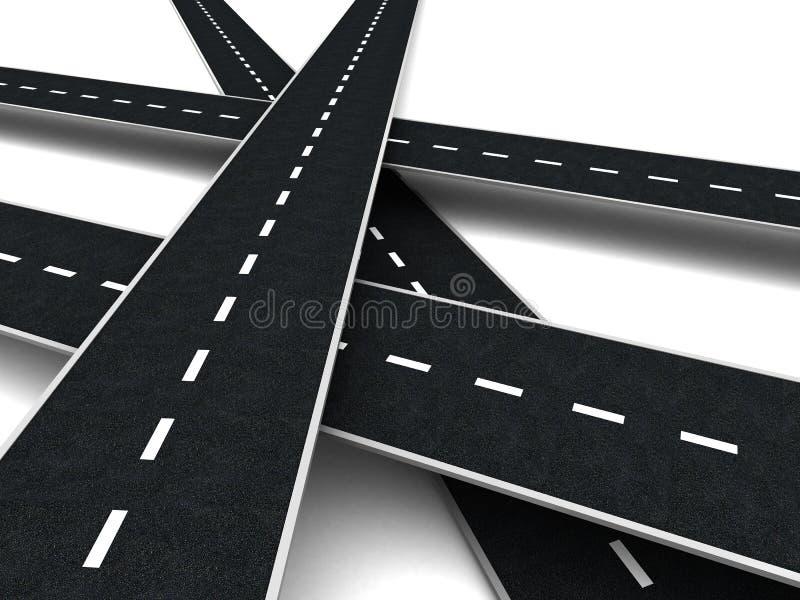 Straßen vektor abbildung