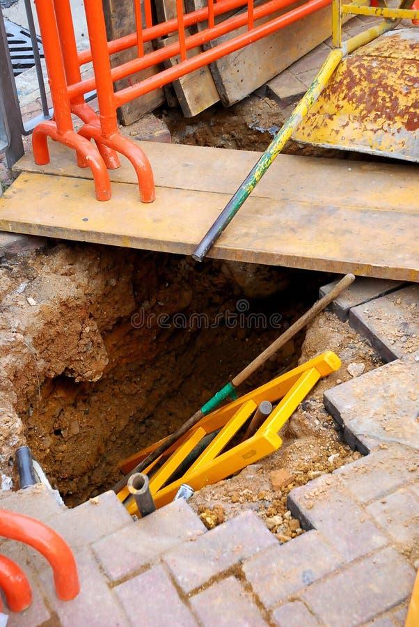 Straßen-Aufbau 02 lizenzfreies stockbild