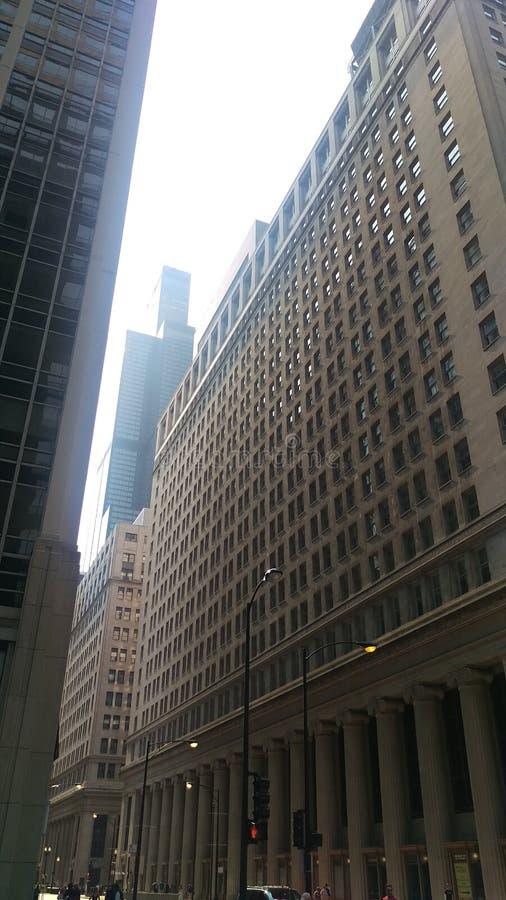 Straßen Chicago lizenzfreie stockbilder