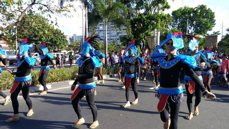 Straßen-Tanzen für kleinen Jesus stockfoto