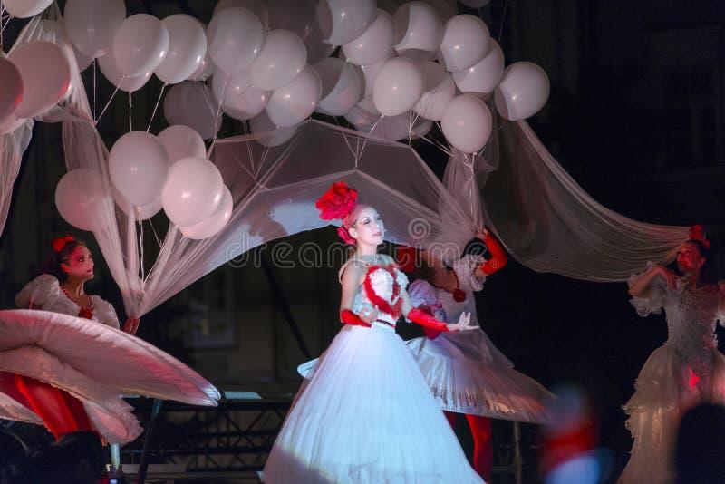 Straßen-Theater Tol stockfotos