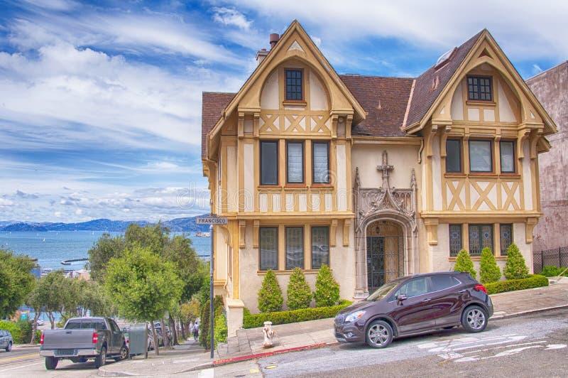 Straßen und Architektur von San Francisco stockfotos
