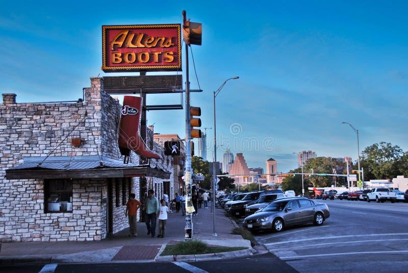 Straßen von Austin, Texas stockfoto