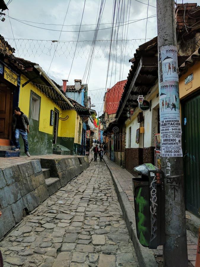 Straßen von Bogota lizenzfreie stockbilder