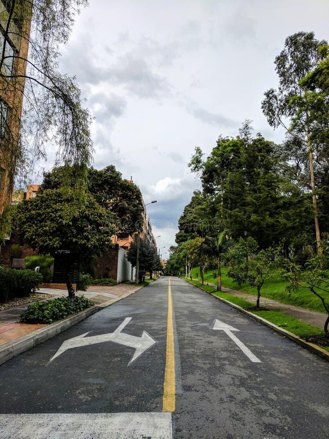 Straßen von Bogota stockbilder