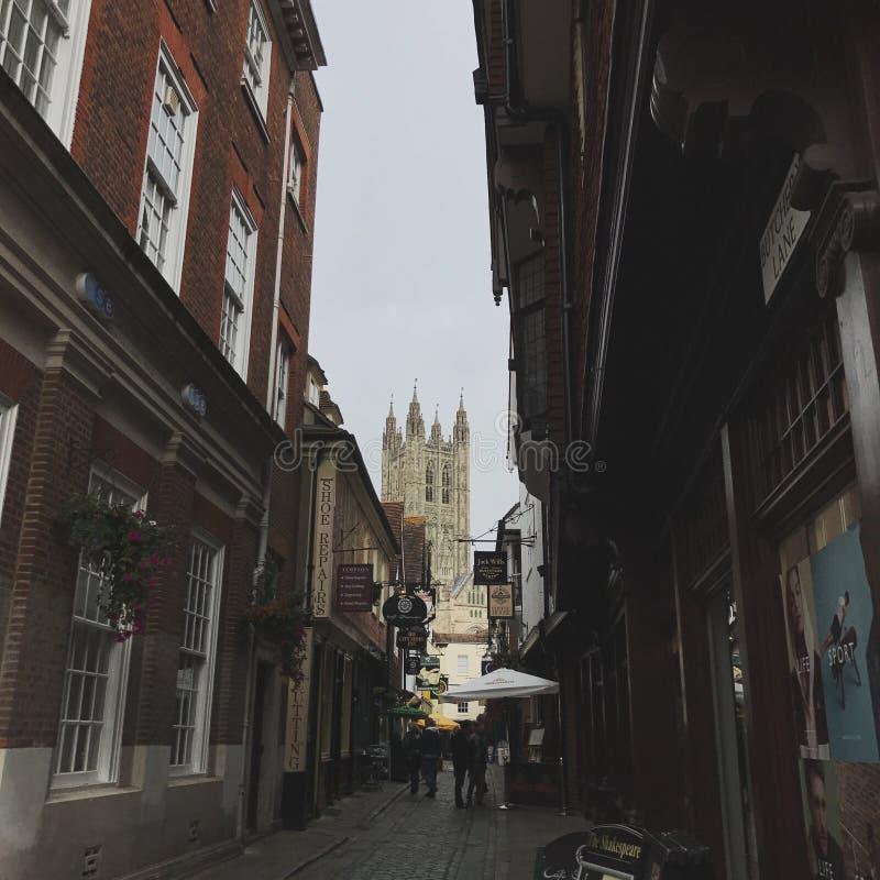 Straßen von England stockbild
