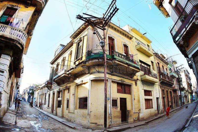 Straßen von Havana lizenzfreies stockfoto